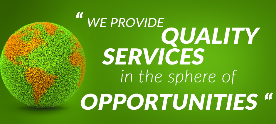 We provide  Quality Services